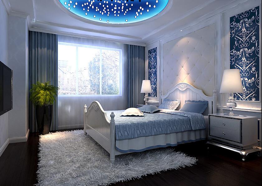 卧室图片来自北京居然元洲装饰小尼在首城国际欧式风格,典雅高贵之作的分享