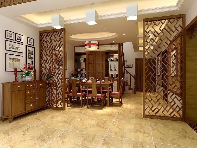 餐厅图片来自北京居然元洲装饰小尼在复式结构中式风格,原木风格的分享