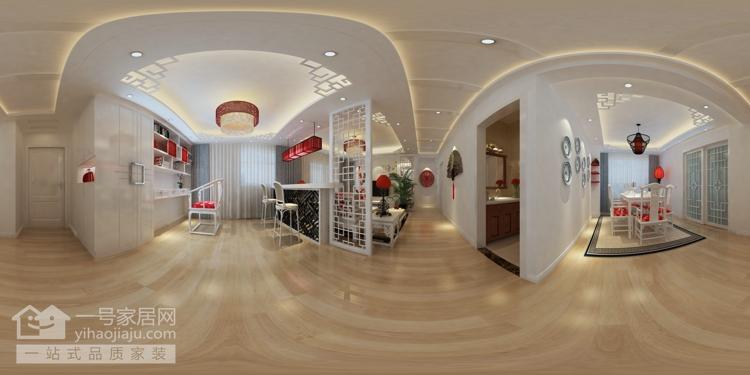 新东方主义 芷岸龙庭 三房两厅 其他图片来自武汉一号家居在芷岸龙庭效果图的分享
