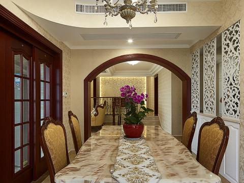 欧式 二居 三居 客厅 别墅 卧室 厨房 餐厅图片来自武汉欣绿康装饰-在欧式风格实景照的分享