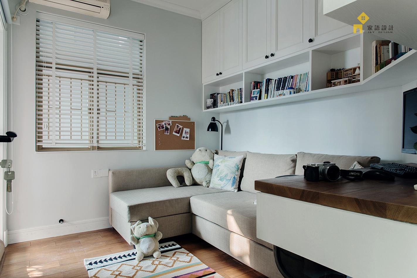 书房图片来自家语设计张海妮工作室在半暖时光的分享