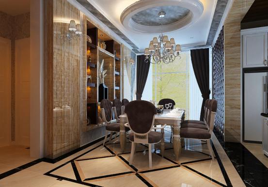 餐厅图片来自JingYiPrize人居空间设计大赛在朱瑞-保利十二橡树的分享