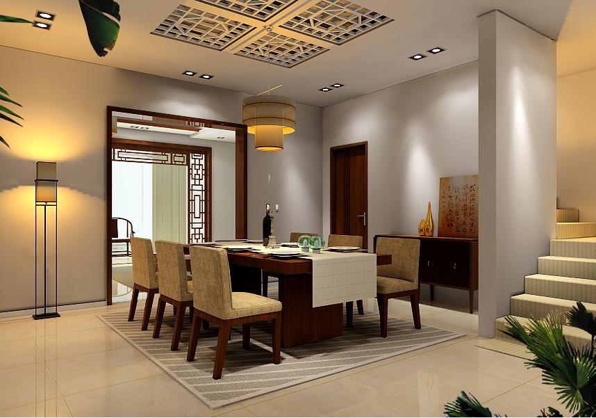 餐厅图片来自北京居然元洲装饰小尼在260平米中式风格,典雅大方的分享