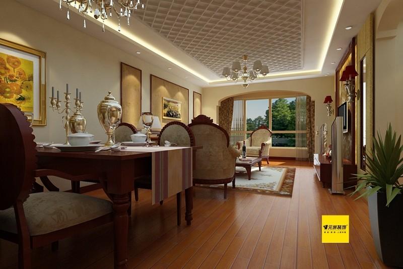 混搭 三居 国奥媒体村 客厅图片来自北京居然元洲装饰小尼在新中式地中海混搭三居的分享