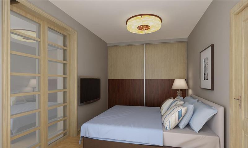 卧室图片来自四川幸福魔方装饰在金茂悦龙山-现代中式的分享