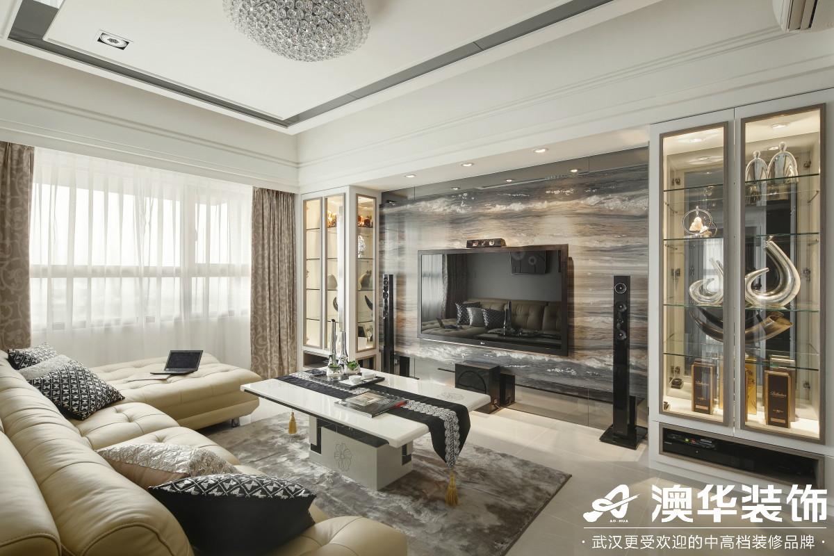 简约 客厅图片来自澳华装饰有限公司在福星惠誉东湖城新古典风格的分享