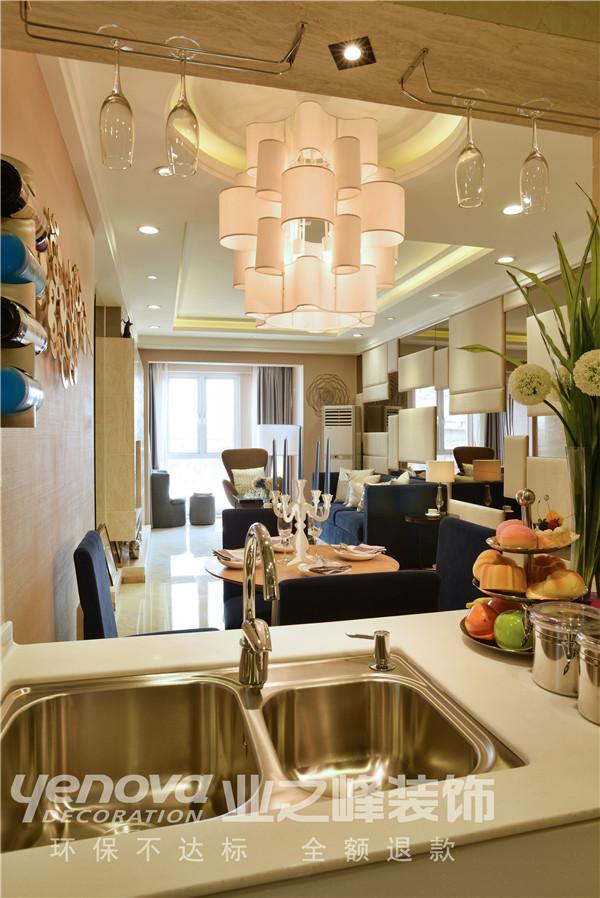 太原业之峰 装饰效果图 二居 现代 厨房图片来自太原业之峰小李在兰亭御湖城的分享