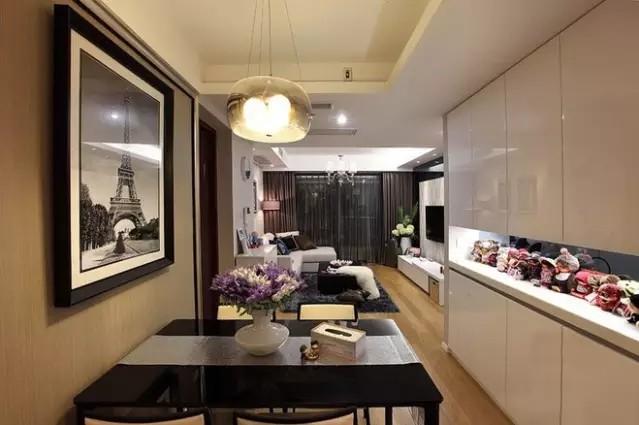 简约 二居 旧房改造 餐厅图片来自实创装饰上海公司在74㎡温馨小两居的分享