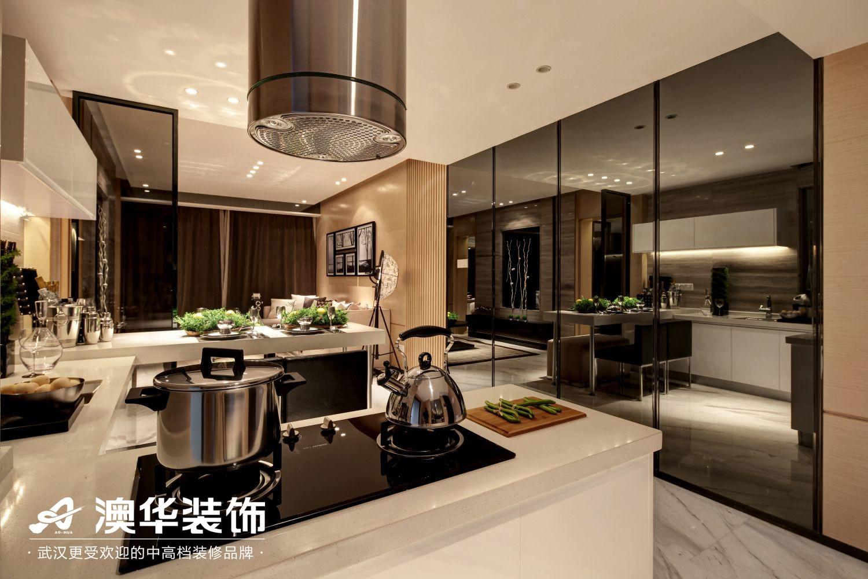 简约 厨房图片来自澳华装饰有限公司在中建福地星城现代风格的分享