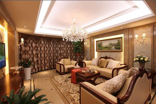 三居 客厅图片来自北京大成日盛装饰设计在新古典 三居室 大成案例欣赏的分享