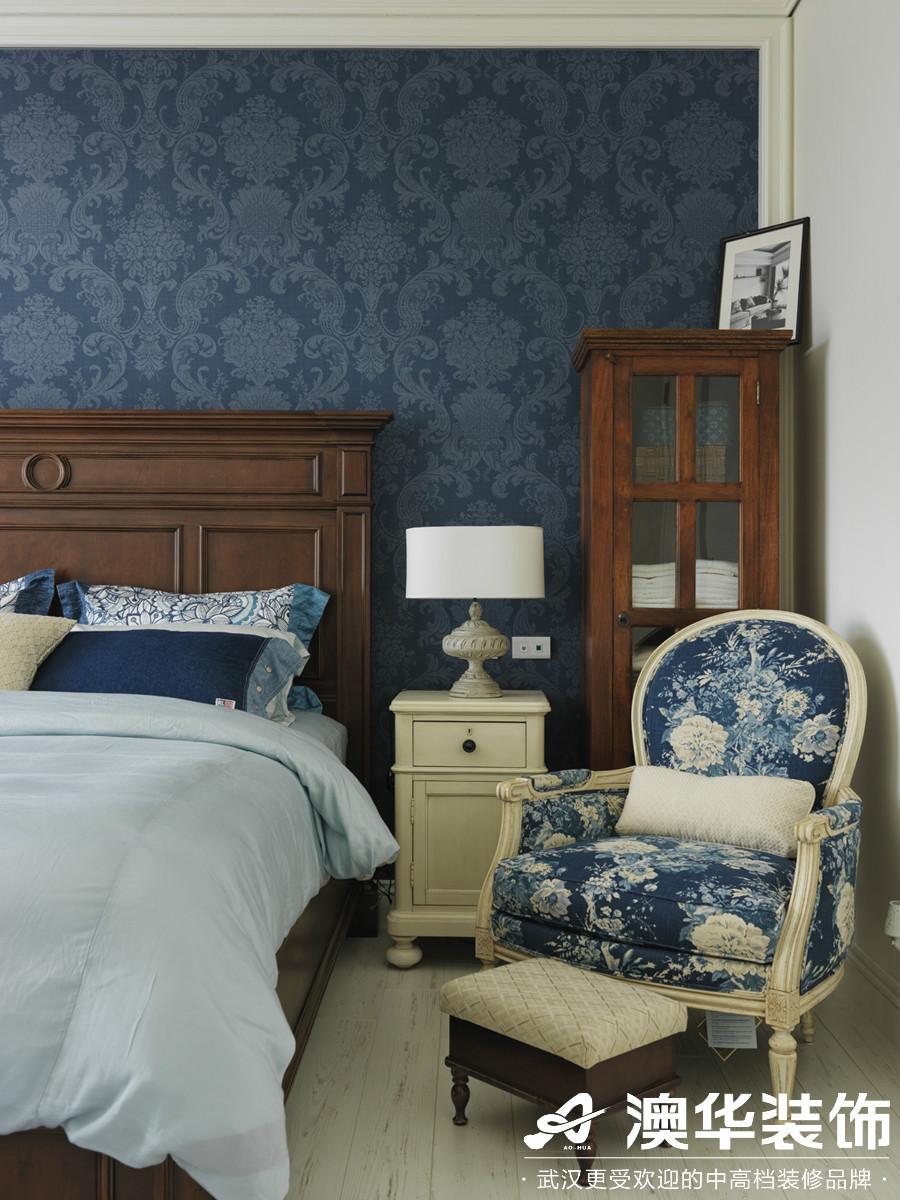 卧室图片来自澳华装饰有限公司在龙阳1号·美式风格的分享