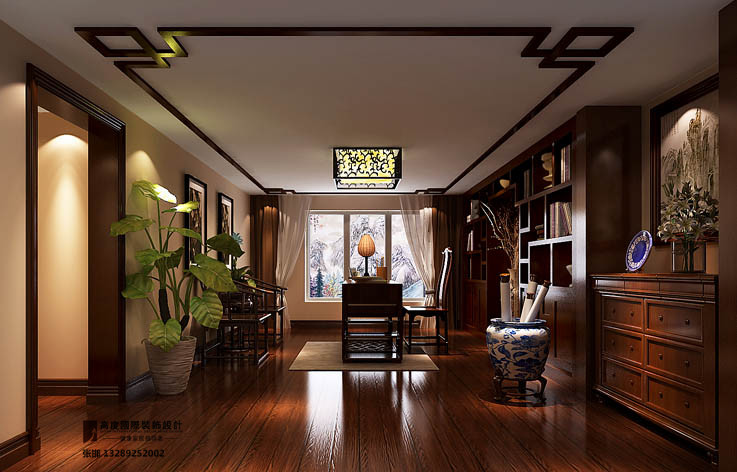 装修 设计 高度国际 别墅 书房图片来自张邯在高度国际1的分享