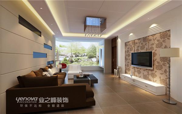 太原业之峰 二居 客厅图片来自太原业之峰小李在千禧学府苑的分享