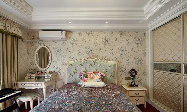 卧室图片来自家装大管家在充满小资格调 130平美式温馨3居的分享