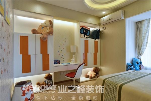太原业之峰 装饰效果图 二居 现代 卧室图片来自太原业之峰小李在兰亭御湖城的分享