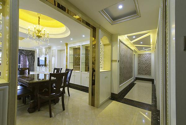 三居 欧式 餐厅图片来自北京大成日盛装饰设计在欧式 三居室 大成装饰案例欣赏的分享