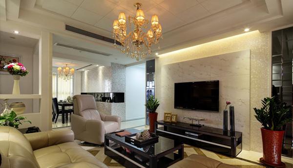 简约 客厅图片来自北京大成日盛装饰设计在现代 二手房 大成案例欣赏的分享