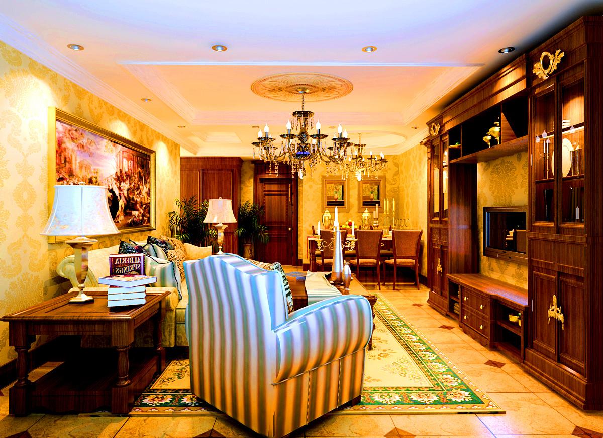 欧式 别墅 东方普罗旺 别墅装修 书房图片来自北京居然元洲装饰小尼在东方普罗旺斯古典欧式尽显大气的分享