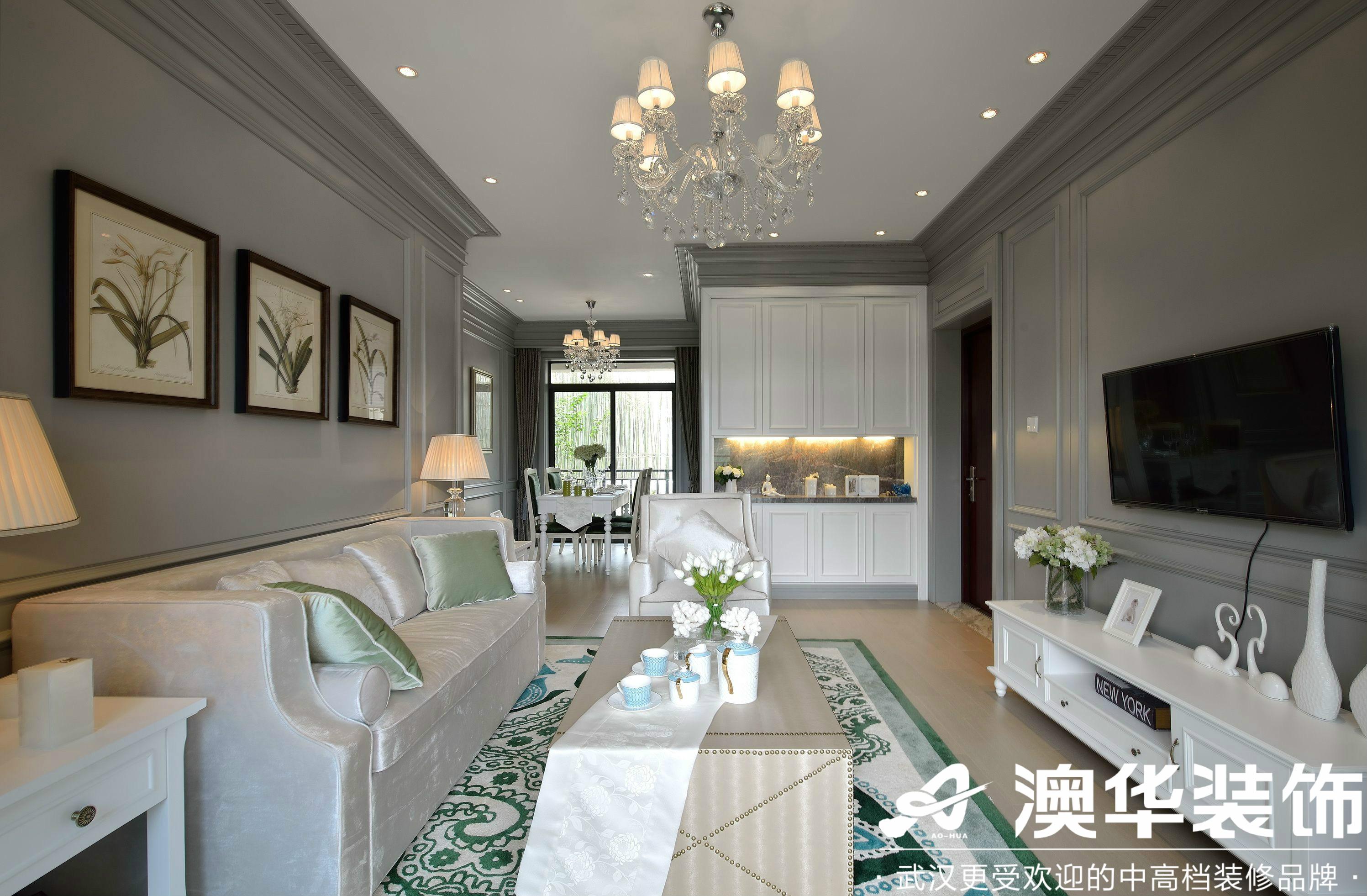 客厅图片来自澳华装饰有限公司在华侨城·美式风格的分享