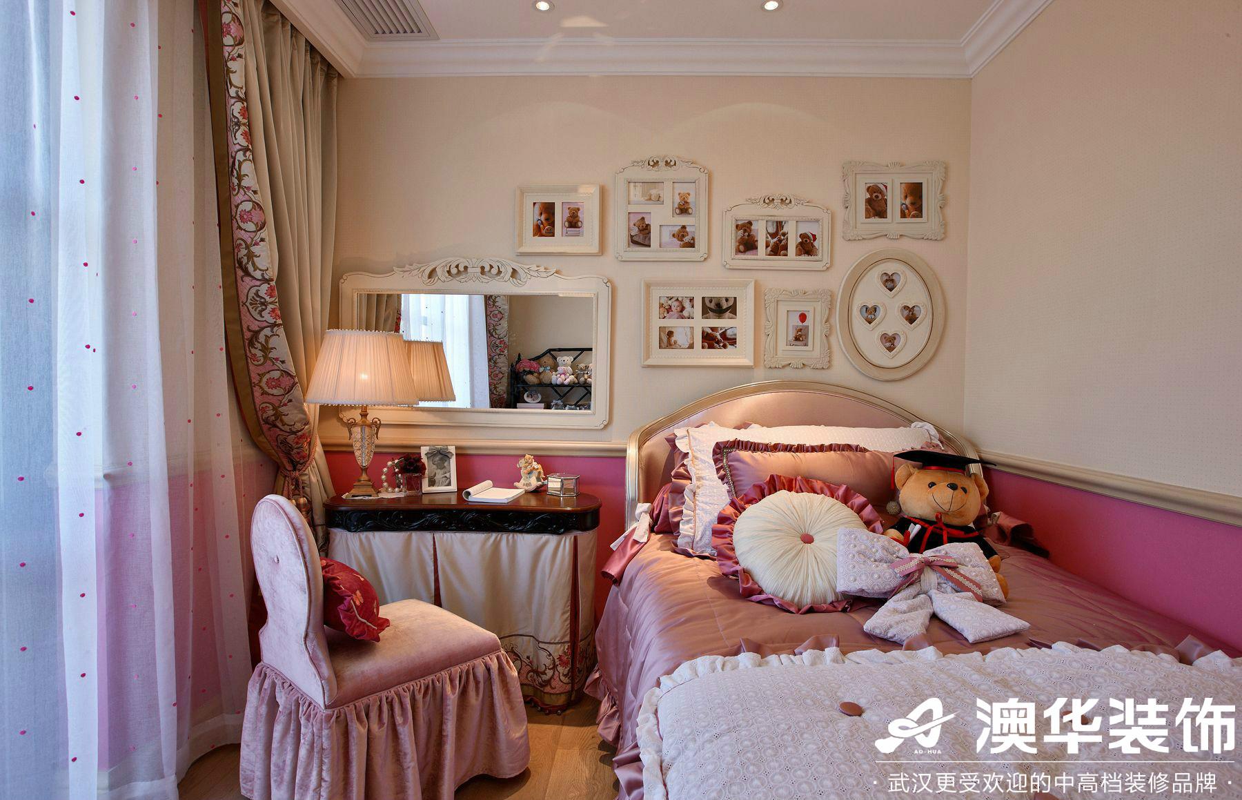 卧室图片来自澳华装饰有限公司在世茂林屿岸·法式风格的分享
