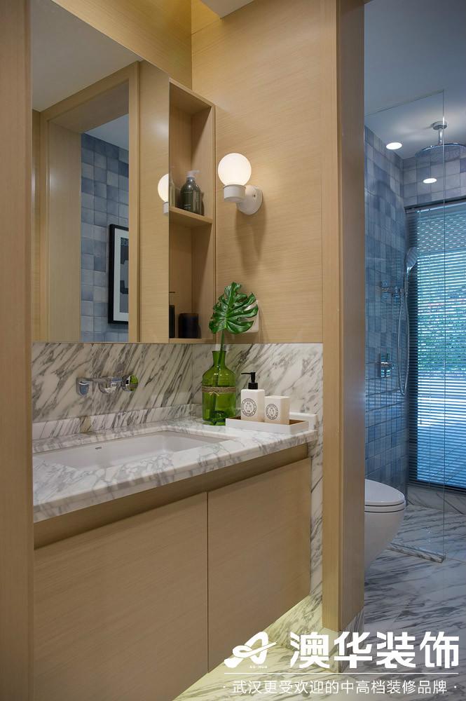卫生间图片来自澳华装饰有限公司在汉口新城公园世家现代风格的分享