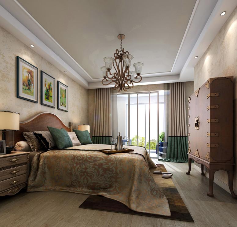 卧室图片来自北京居然元洲装饰小尼在150平面复式结构欧式风格图的分享