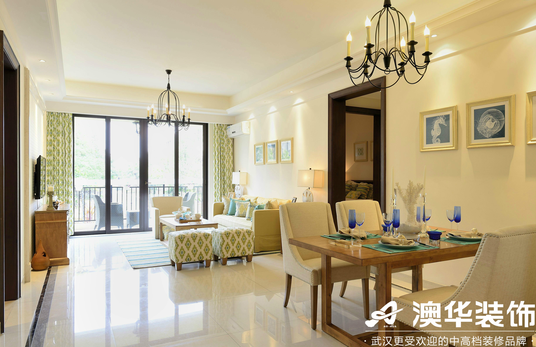 客厅图片来自澳华装饰有限公司在中部慧谷美式风格的分享