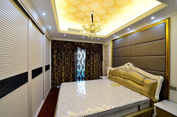 三居 欧式 卧室图片来自北京大成日盛装饰设计在欧式 三居室 大成装饰案例欣赏的分享