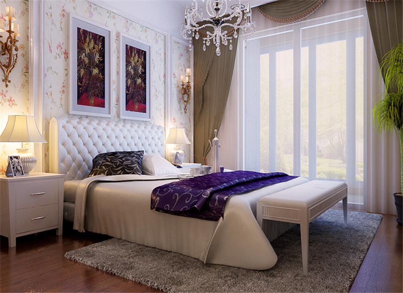 三居 白领 收纳 80后 小资 卧室图片来自实创装饰完美家装在富丽花园146平简欧风格设计风格的分享