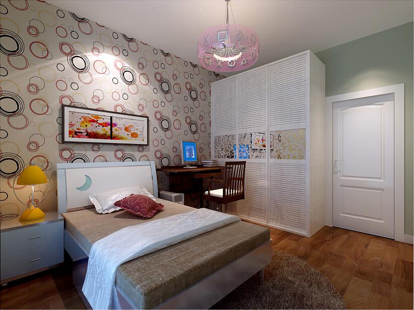 卧室图片来自北京居然元洲装饰小尼在中建国际港90平米两居室简约风格的分享