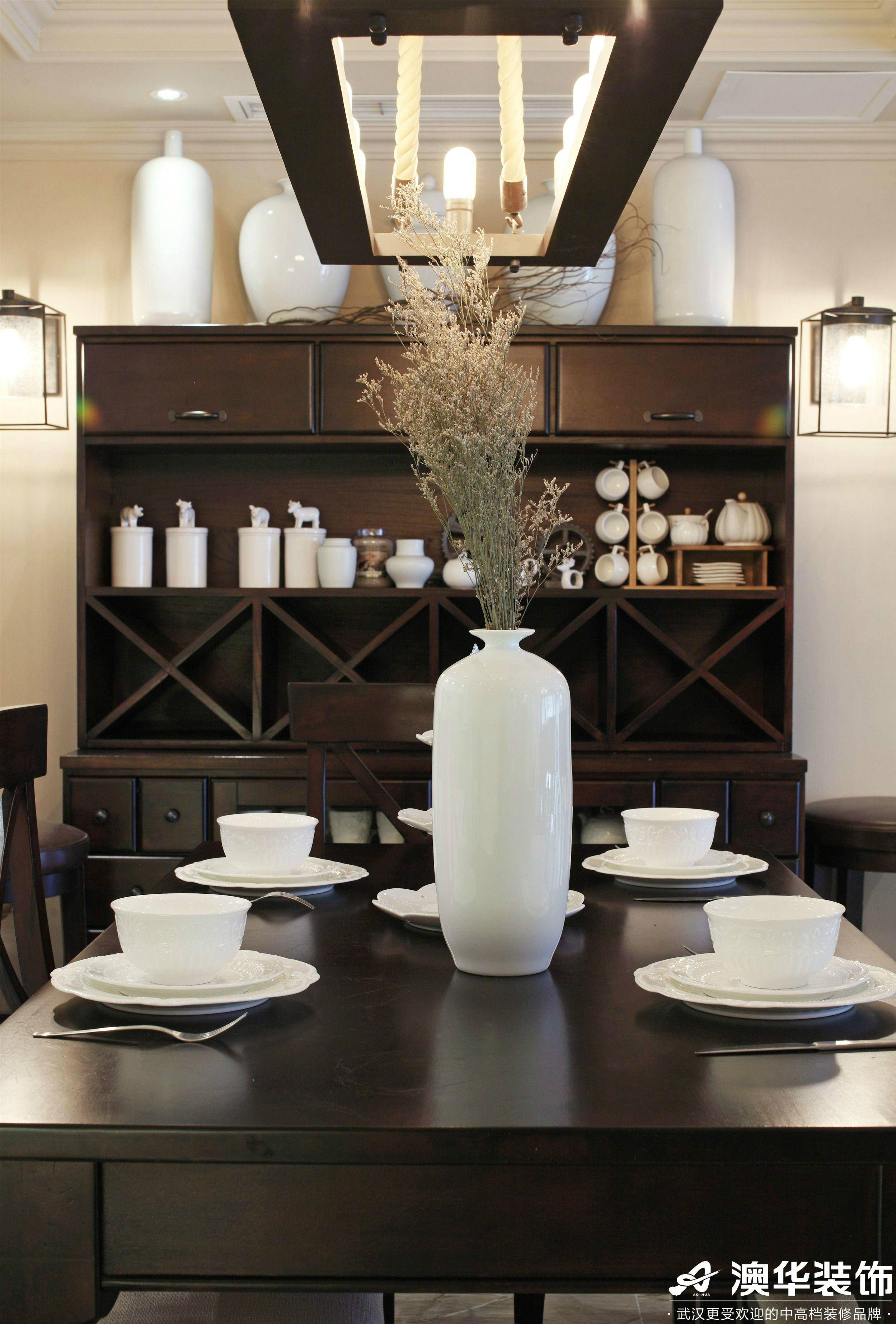餐厅图片来自澳华装饰有限公司在联投广场美式风格的分享