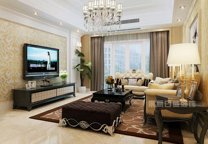 欧式 三居 白领 收纳 小资 客厅图片来自武汉东易日盛在金地意境-文奇-简欧风格的分享