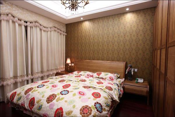 三居 卧室图片来自北京大成日盛装饰设计在新古典 三居室 大成案例欣赏的分享