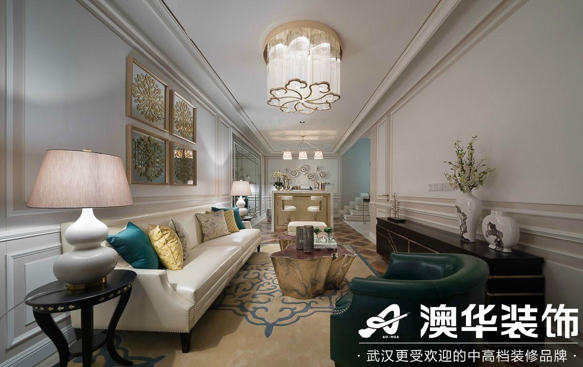 客厅图片来自澳华装饰有限公司在碧桂园假日半岛法式风格的分享