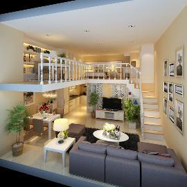 北京城建n次方loft欧式风格