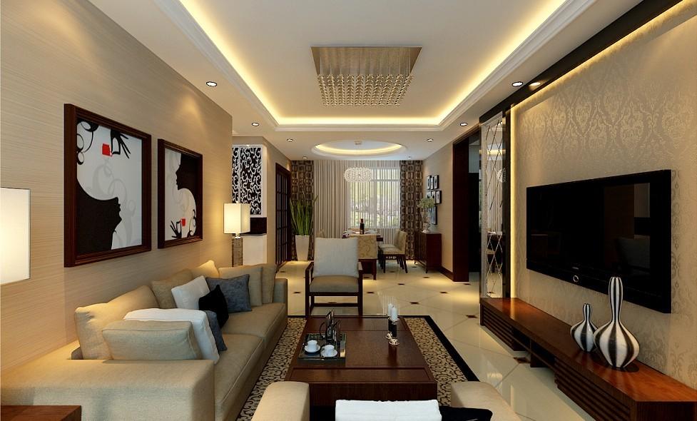 客厅图片来自北京居然元洲装饰小尼在中建国际港90平米两居室简约风格的分享