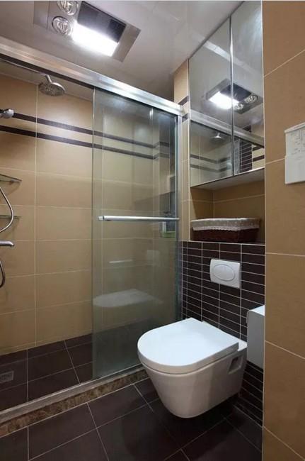 简约 二居 旧房改造 卫生间图片来自实创装饰上海公司在74㎡温馨小两居的分享