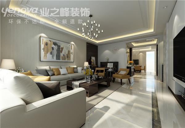 客厅图片来自业之峰太原分公司在光信国信现代设计风的分享