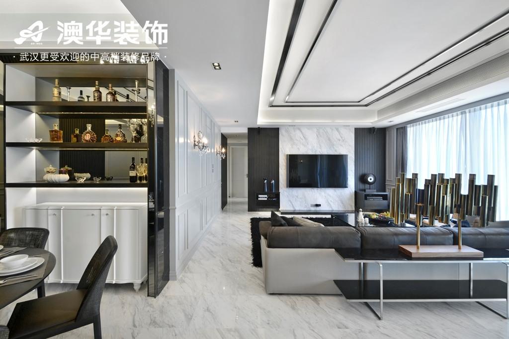 客厅图片来自澳华装饰有限公司在美加史丹佛公馆现代风格的分享