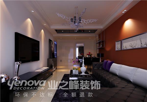 太原业之峰 三居 中式 客厅图片来自太原业之峰小李在丽泽苑的分享