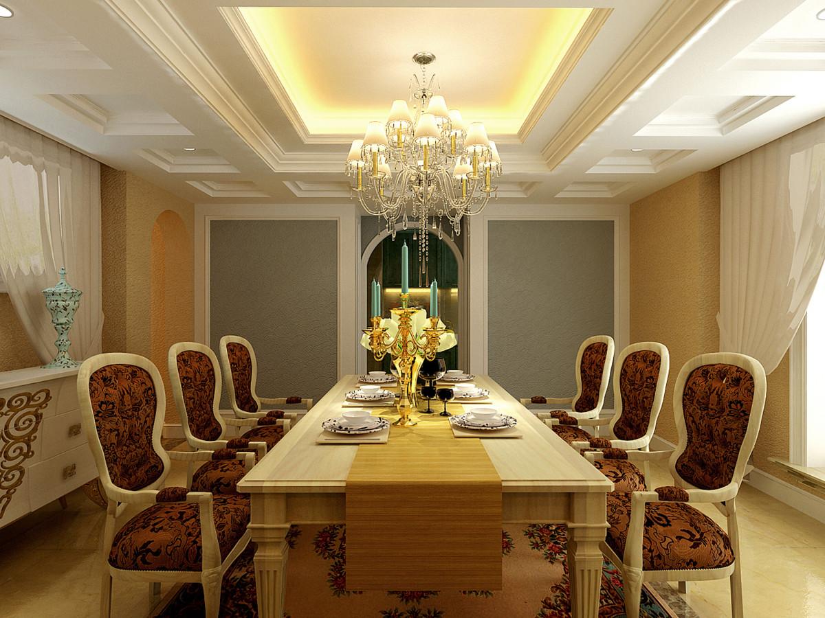 餐厅图片来自北京居然元洲装饰小尼在香醍溪岸330平米简约美式的分享