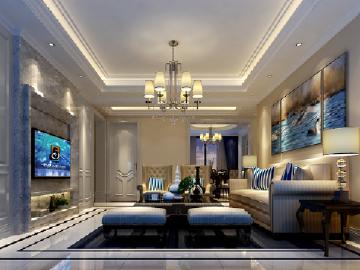 现代简约两室