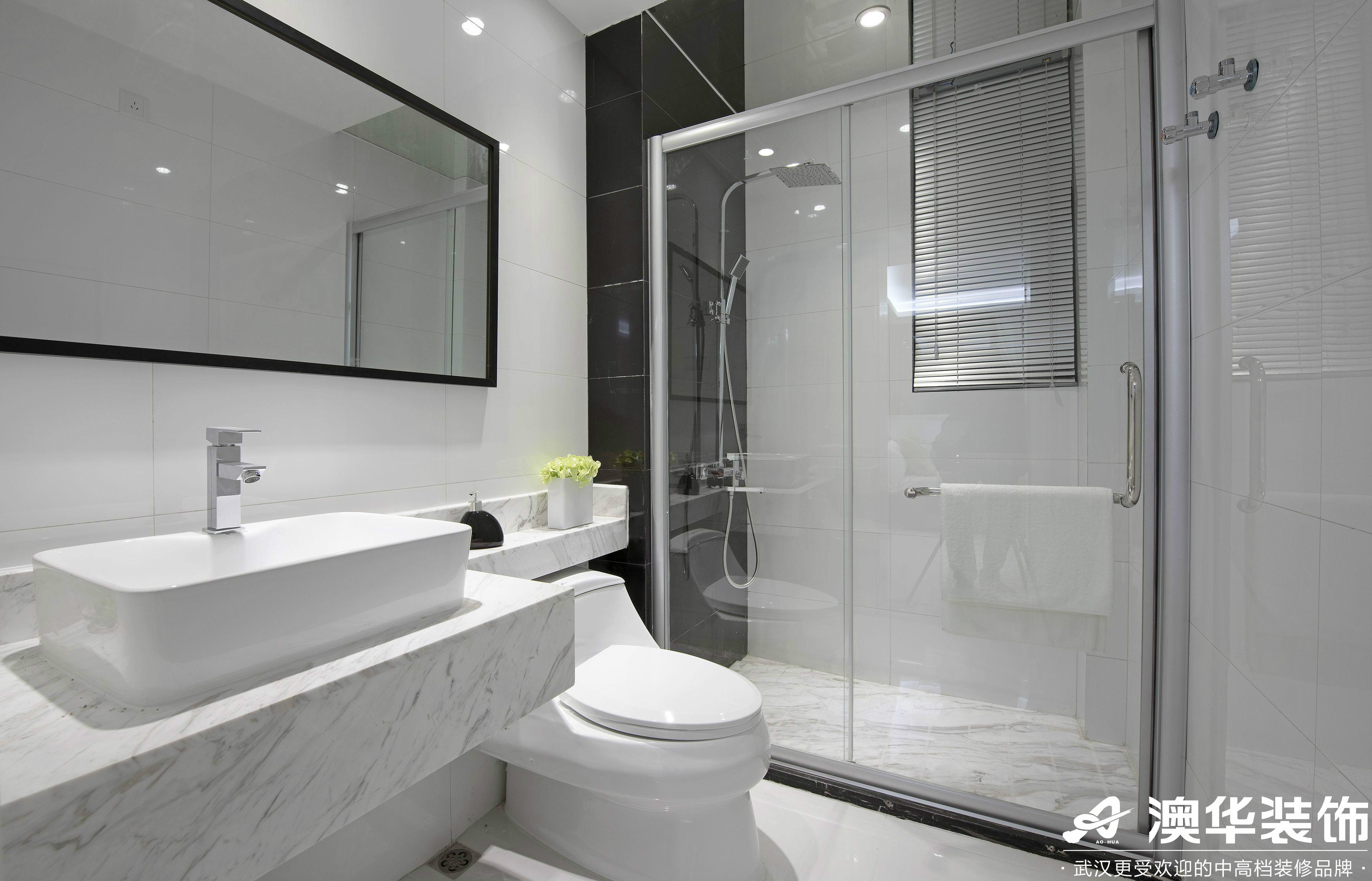 卫生间图片来自澳华装饰有限公司在悦达新天地现代风格的分享