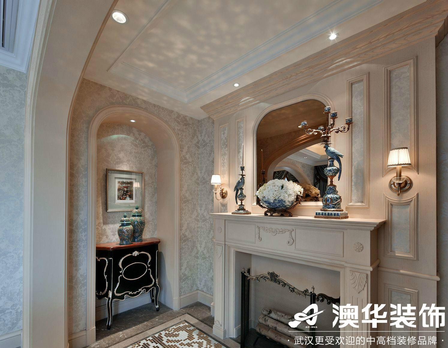 客厅图片来自澳华装饰有限公司在世茂林屿岸·法式风格的分享