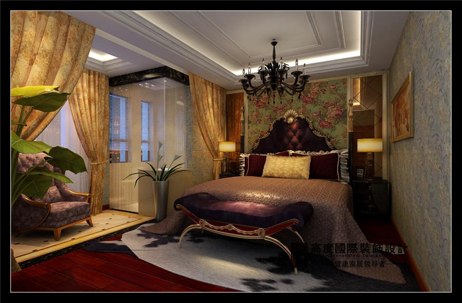 欧式 混搭 卧室图片来自摔倒了不想起来在中铁缤纷南郡的分享