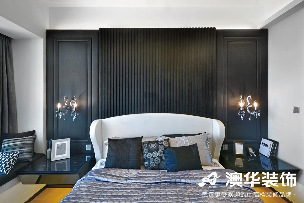 卧室图片来自澳华装饰有限公司在美加史丹佛公馆现代风格的分享