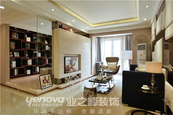 太原业之峰 装饰效果图 二居 现代 客厅图片来自太原业之峰小李在兰亭御湖城的分享