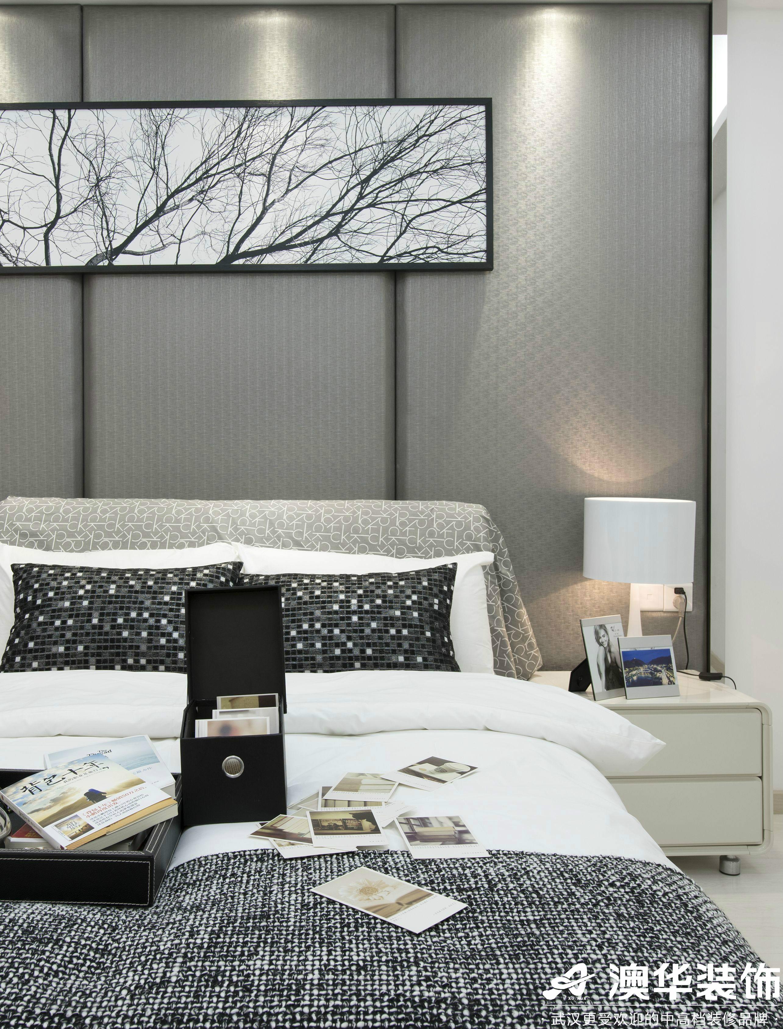 卧室图片来自澳华装饰有限公司在悦达新天地现代风格的分享
