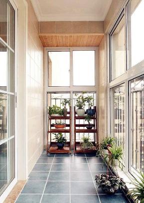 美式 三居 旧房改造 收纳 阳台图片来自北京合建高东雪在120平清新美式的分享