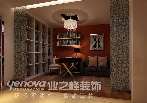 太原业之峰 三居 中式 书房图片来自太原业之峰小李在丽泽苑的分享
